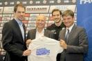 12.07.2016 - HC Erlangen stellt neuen Spieler und Kooperationspartner vor