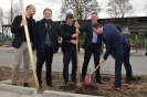 21.03.2017 - 2. Liga, SpVgg. Greuther Fürth pflanzt Bäume im Sportpark Ronhof
